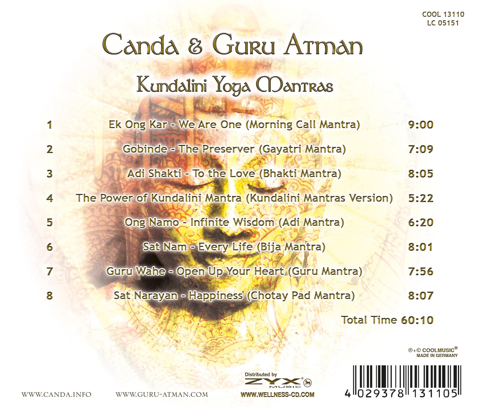 CD KUNDALINI YOGA MANTRAS